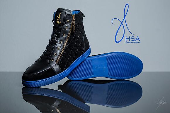 HSA Geneva Sneakers Black Color