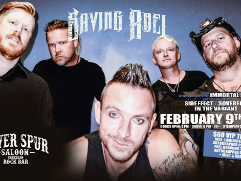 In The Variant live supporting SAVING ABEL at the Silver Spur Saloon Lakewood Co. FEBRUARY 9th