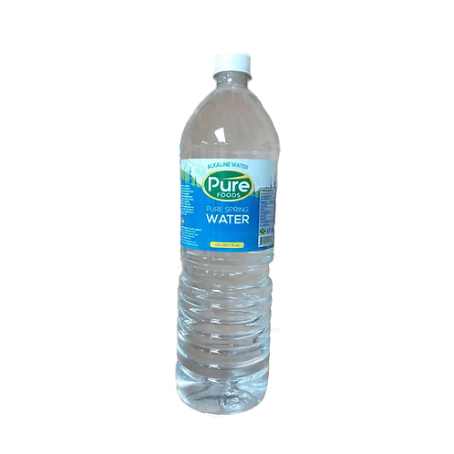 Pure Bottle Spring Wate 12x1Litre case
