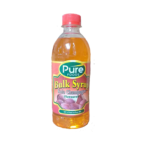 Pure Flavor Syrup Flavored Drink 16oz x 24 Case