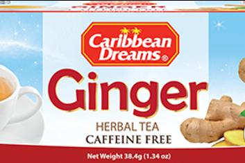 Caribbean Dream  Ginger Tea 24x24 case