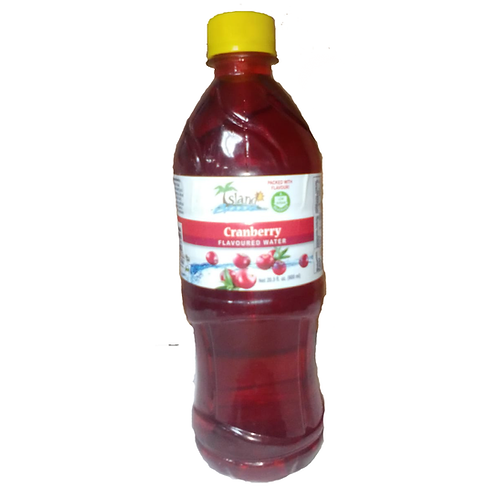 Island Breeze  Cranberry Flavored Drink 24x600ml case