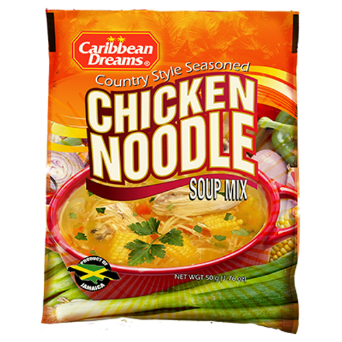 Caribbean Dreams - Chicken Noodle Soup Mix 10x10x50 gram.