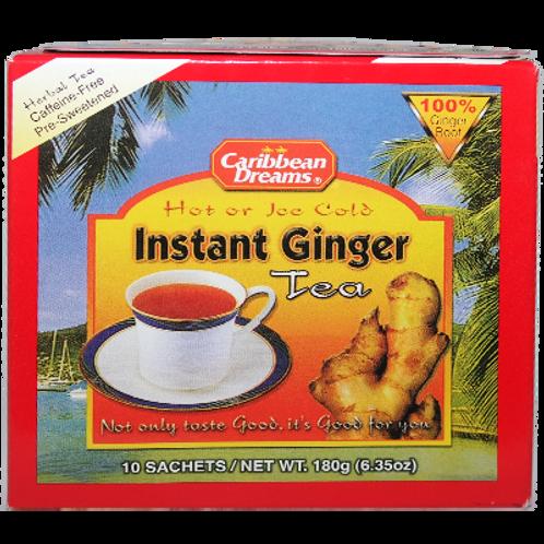 Caribbean Dreams Instant Ginger Tea 24x24 case
