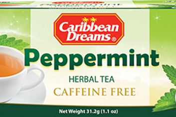 Caribbean Dreams Peppermint Tea 24x24 case