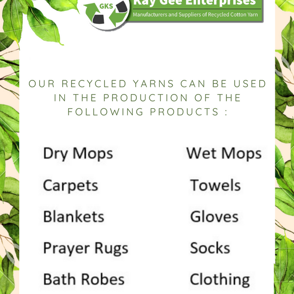 Uses of recycled Cotton Yarn.png
