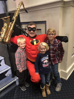 Author as Mr. Incredible
