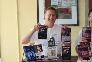 Author book signing event