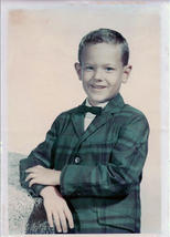 Author at six years old