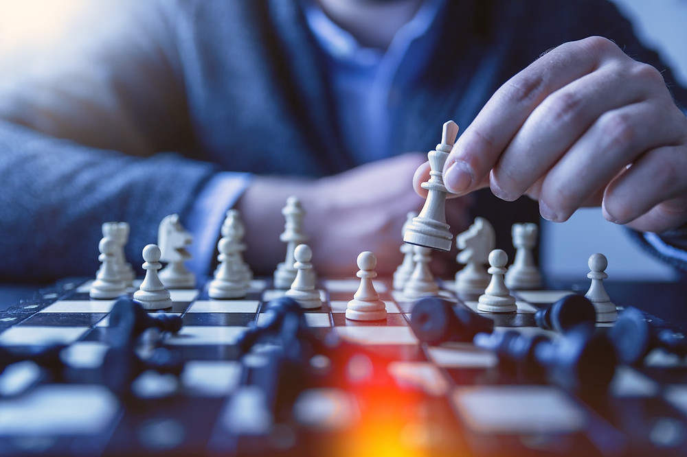 Playing chess - DAK Financial Group - Retirement Risks