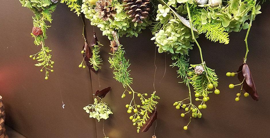 秋の飾り デコレーション