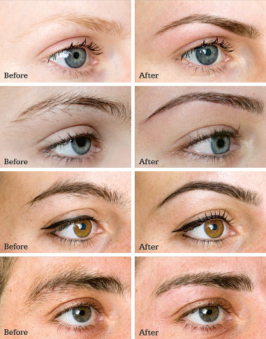 HD brows Before after