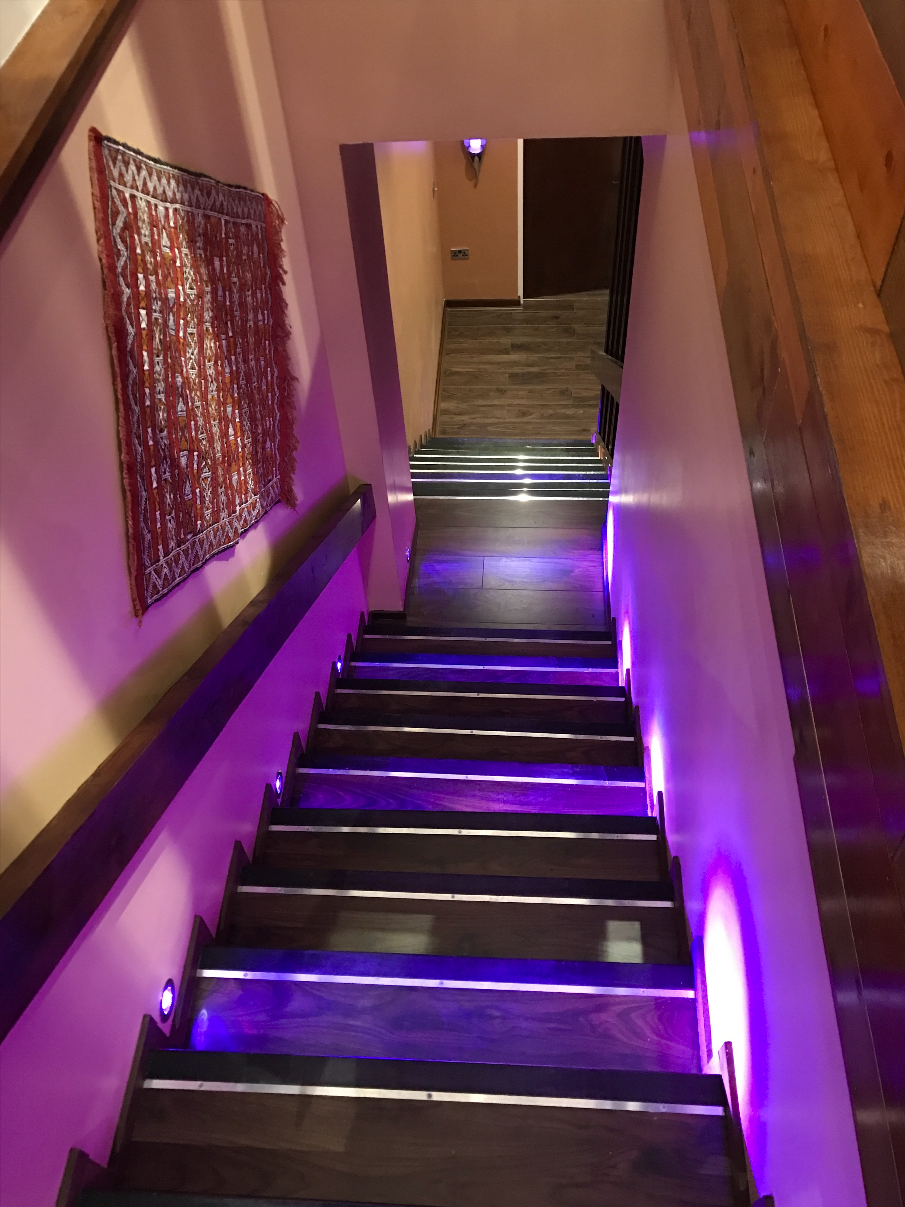 Stairs Purple