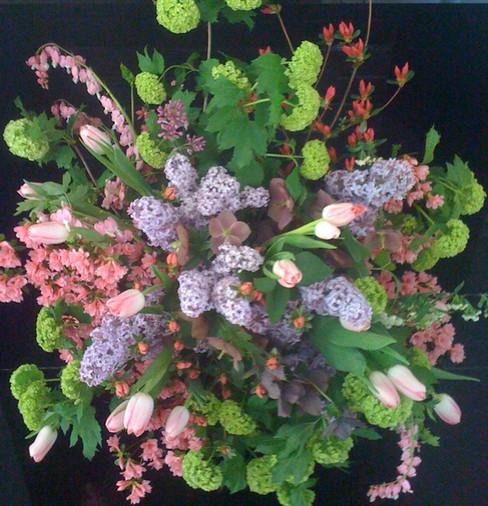 Hillside Garden Club Floral Arrangement for Garden Day in Lynchburg