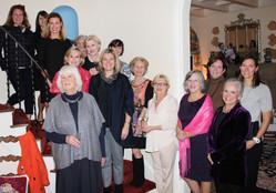 Hillside Garden Club Members dinner with Mary Keen