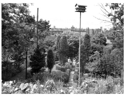 The historic Anne Spencer House Garden