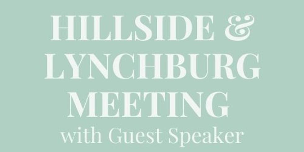 DATE TBD - Hillside & Lynchburg Joint Meeting