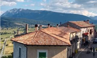 Scorcio di Rocca di Cambio