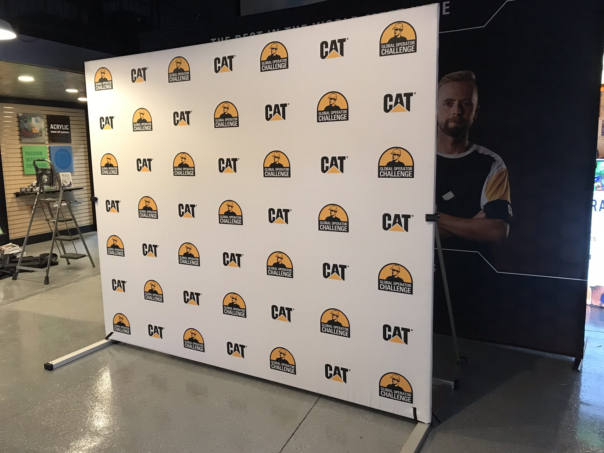 Exterior Backdrop graphic
