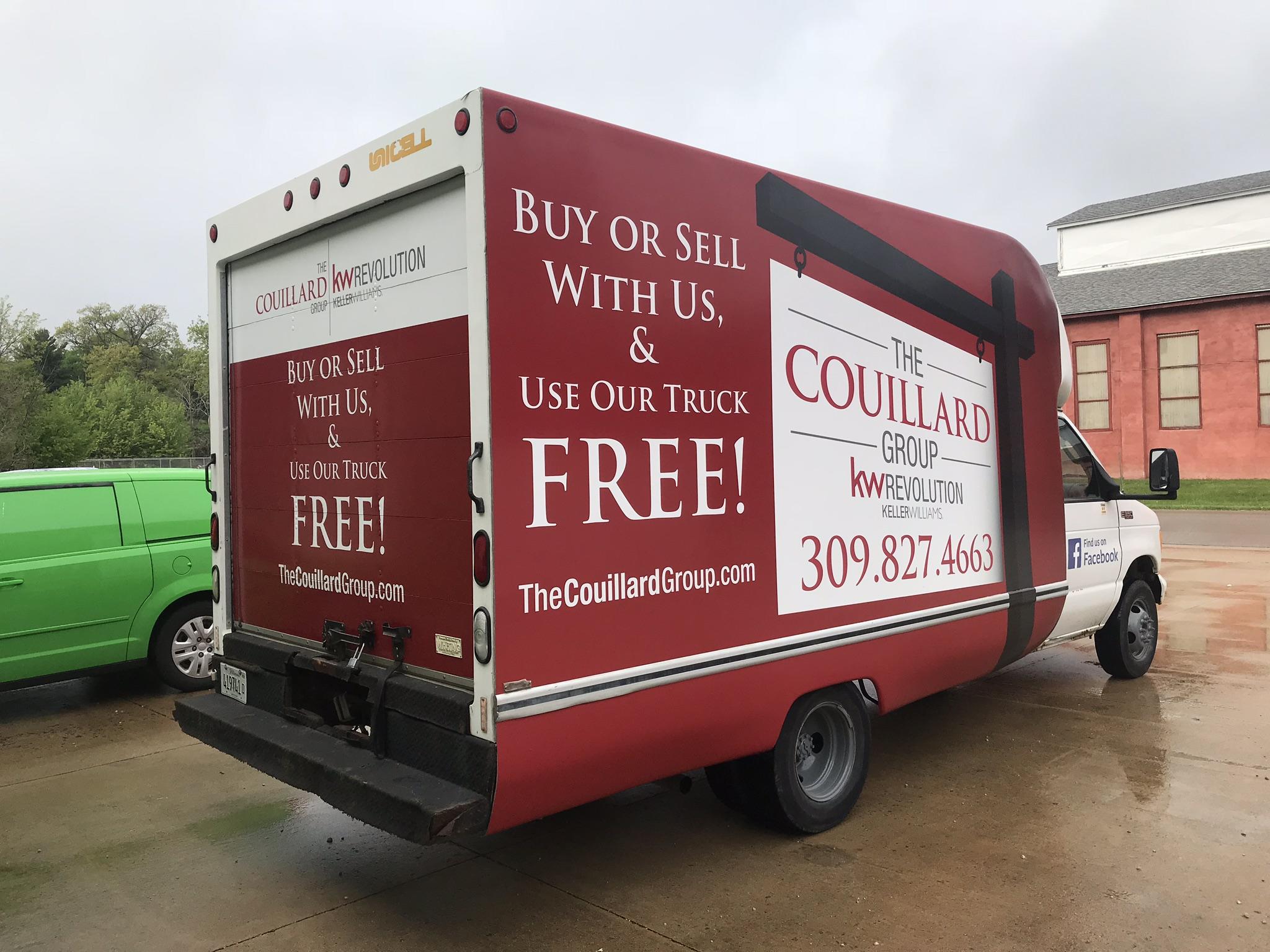 Reality Box Truck Wrap