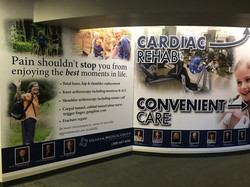 Wall graphics - Health Care