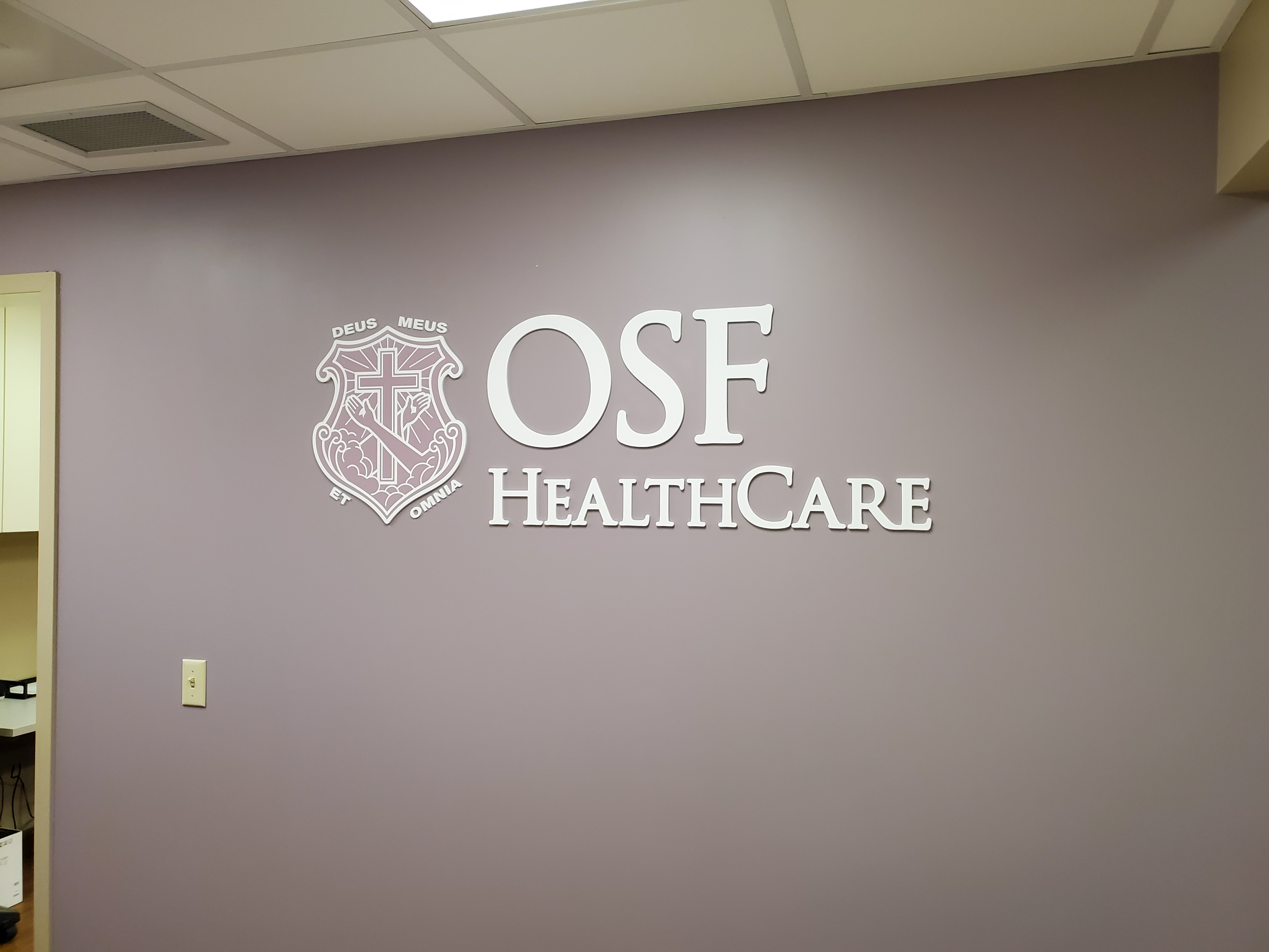 OSF Laser cut acrylic