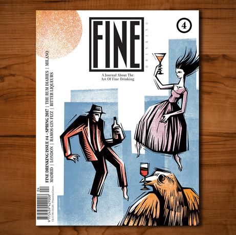 Fine Magazine Cover Illustration