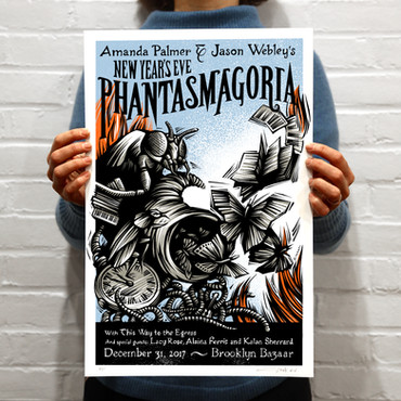New Year's Phantasmagoria Show Poster