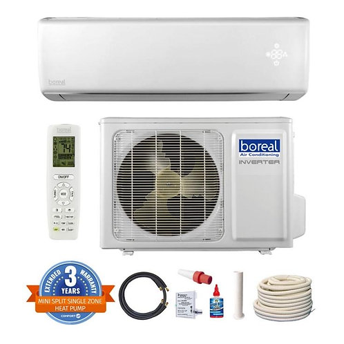 36,000 BTU Single Zone 240Volt  Boreal Brisa Made By GREE Ductless Mini Splits
