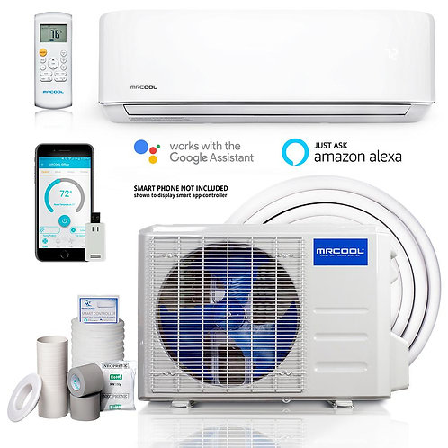 MrCool 12,000-BTU Advantage 3rd Gen. Single-Zone 240-Volt Ductless Mini Split