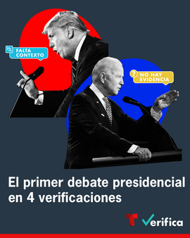 Fact checking the presdential debate - Noticias Telemundo