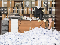 Being Buried By Paper?