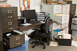 I.O. Solutions | Clear Messy Office Clutter