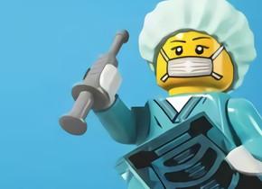 Lego Produce 13,000 Viseras por Día para Trabajadores de la Salud