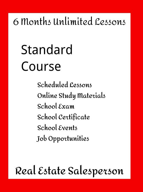 Salesperson Licensing - Standard Course