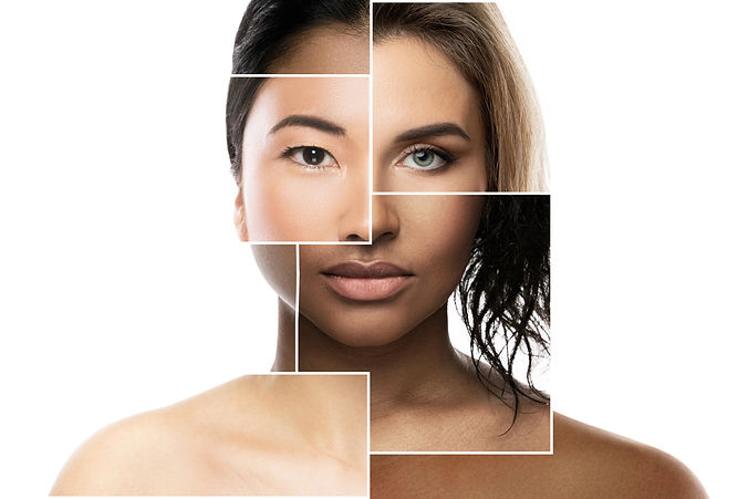 Creative beauty collage - face parts of different ethnicity women..jpg