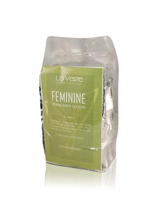 Feminine Refresher Cloths