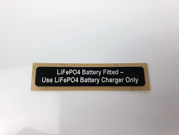 BMAA LiFePO4 Battery Fitted