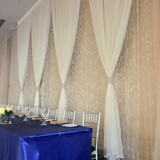 Crystal curtains