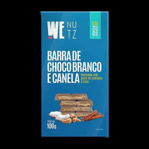 ChocoNutz Branco com Canela - Pasta de Castanha de Caju & Coco