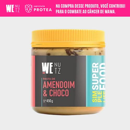 Pasta de Amendoim com Chocolate 70% 450g