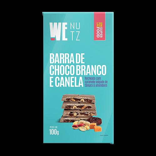 ChocoNutz Branco com Canela - Caramelo Salagado de Tâmaras