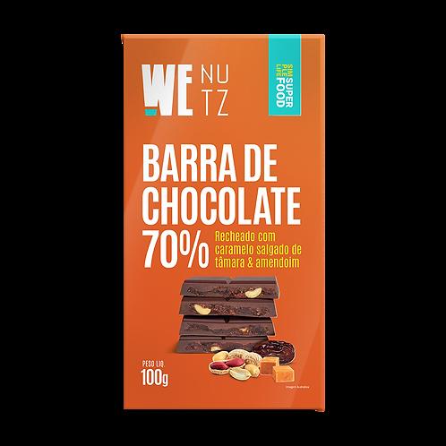 ChocoNutz 70%  - Caramelo Salgado de Tâmaras com Amendoim