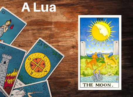 Carta do Tarot - A Lua