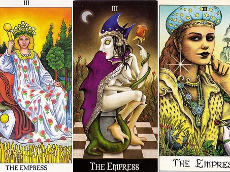 Carta do Tarot - A Imperatriz