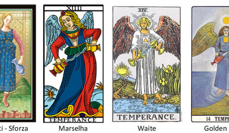 Carta do Tarot - A Temperança