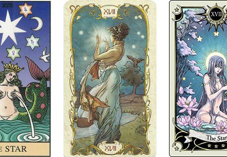 Carta do Tarot - A Estrela