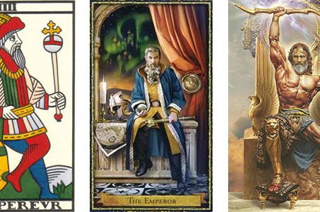Carta do Tarot - O Imperador