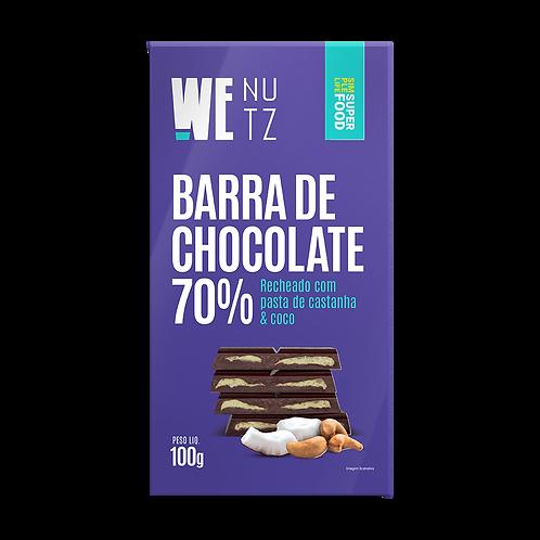 ChocoNutz 70% -Pasta de Castanha & Coco