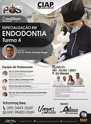 Especialização em Endodontia - Turma 4 -